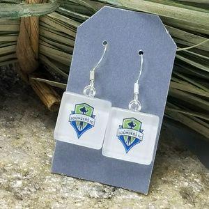 Seattle Sounders Earrings Sounders FC MLS Soccer
